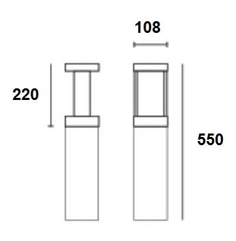 AW150BD Dimension