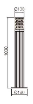 AW158-2BD Dimension